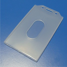Card holder and cover with suspension