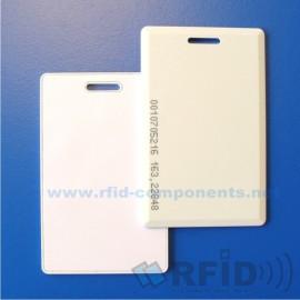 Bezkontaktní RFID Karta Clamshell EM4305