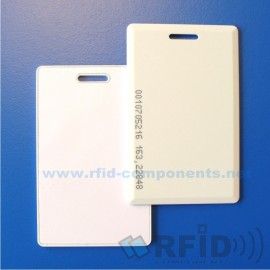 Bezkontaktní RFID Karta Clamshell EM4105