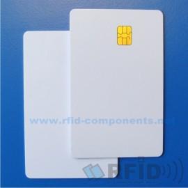 Kontaktní čipová karta Infineon SLE4442