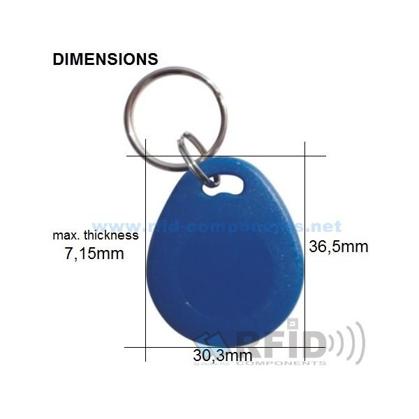 RFID Keyfob Mifare Ultralight C - model3 - RFID-COMPONENTS NET